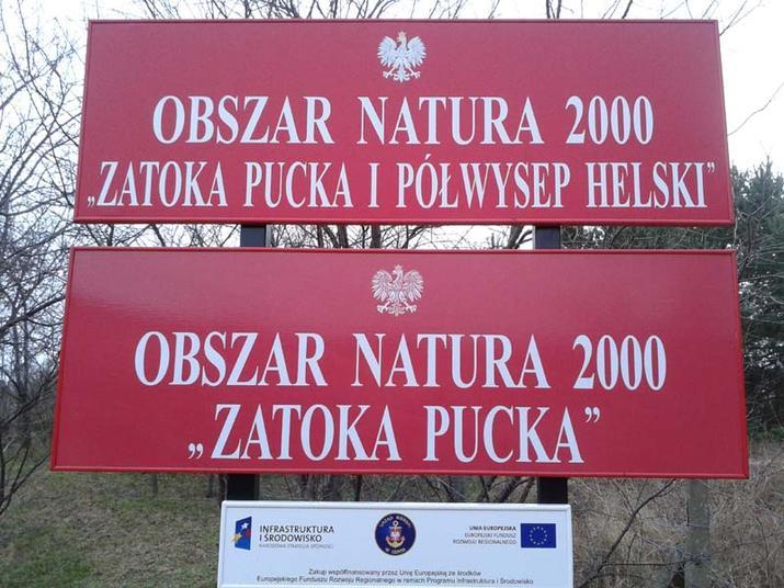 """Informacja Urzędu Morskiego w Gdyni w sprawie """"Projektów planów ochrony obszarów Natura 2000 w rejonie Zatoki Gdańskiej  i Zalewu Wiślanego""""."""