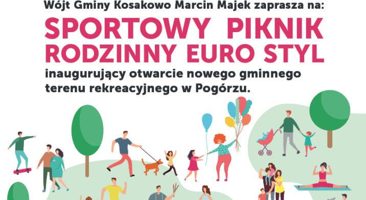 Sportowy Piknik Rodzinny w Pogórzu 19 maja 2019 roku