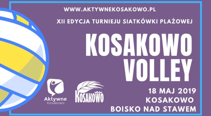 Kosakowo Volley już 18 maja 2019r.