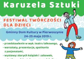 """III Festiwal Twórczości dla Dzieci """"Karuzela Sztuki"""""""