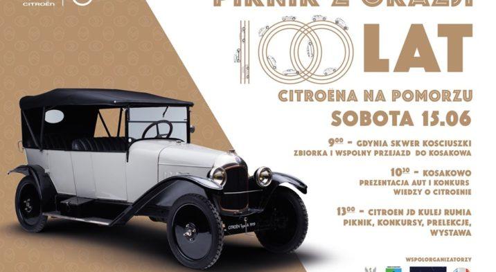 100 lat Citroen ! – na Pomorzu