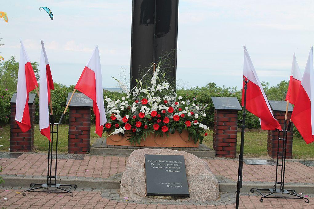 XVI Uroczystość w Ogólnopolskiej Alei Zasłużonych Ludzi Morza w Rewie